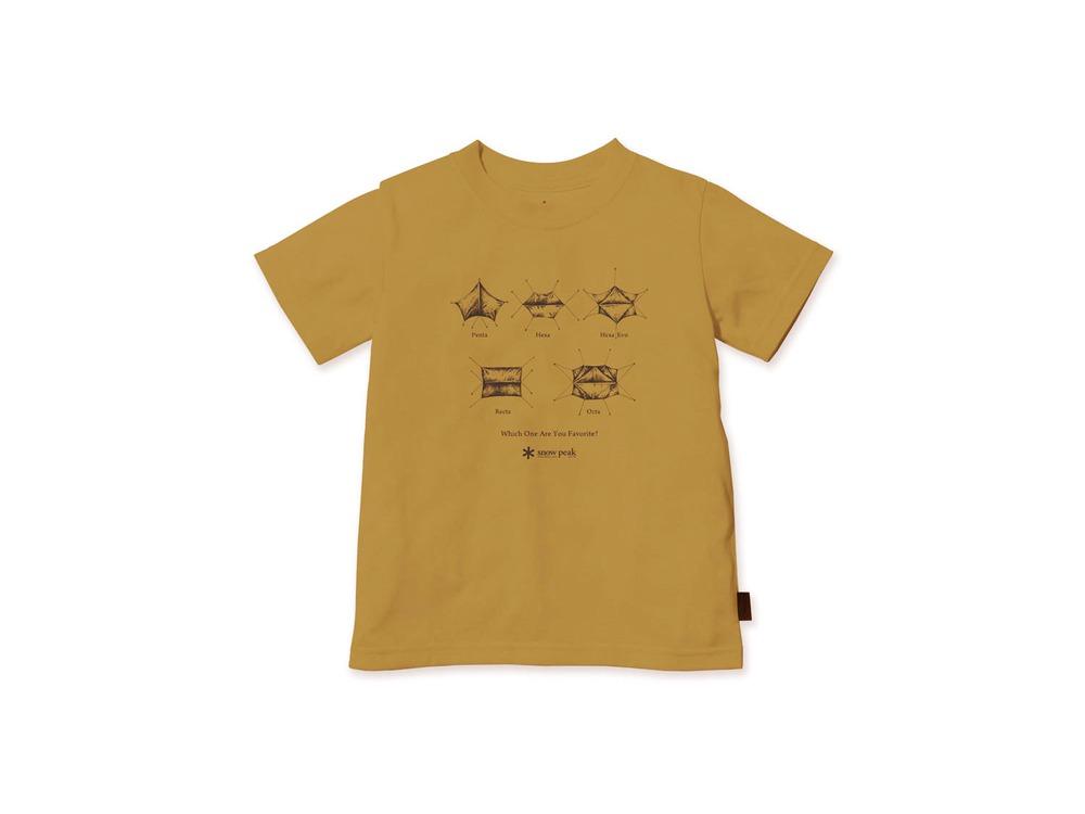 キッズ SP Tarp Tシャツ 1 Mustard