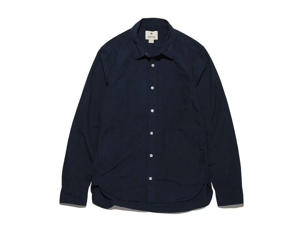 Organic Typewriter Shirt S Navy0