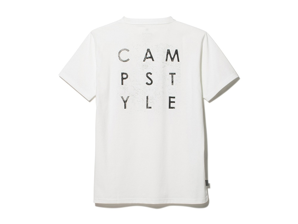 Authentic Campstyle Tee L White