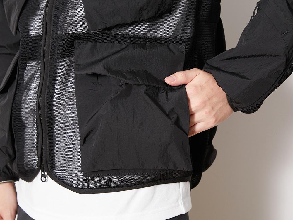 Mesh Jacket M Black
