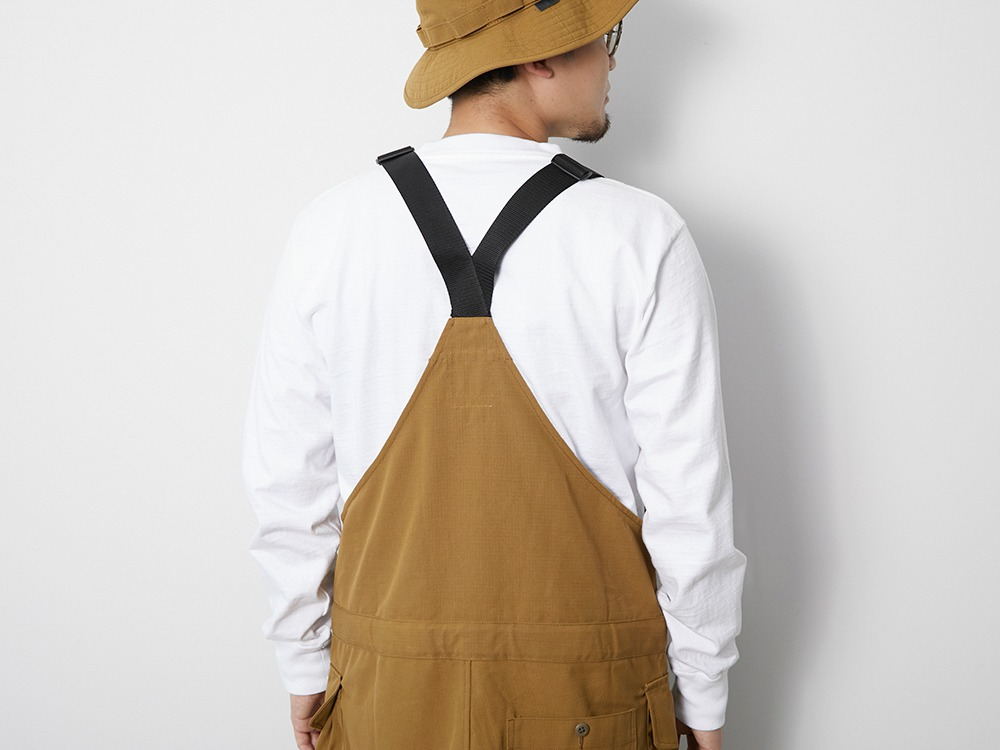 TAKIBI Overalls S Brown