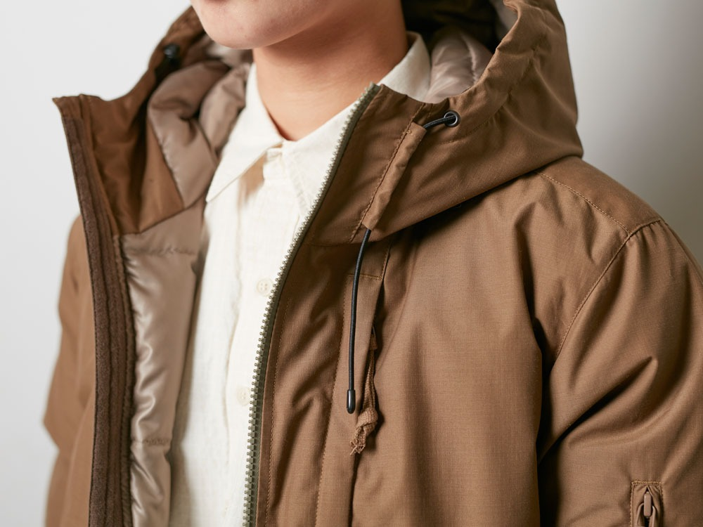 FR Down Jacket M Brown5