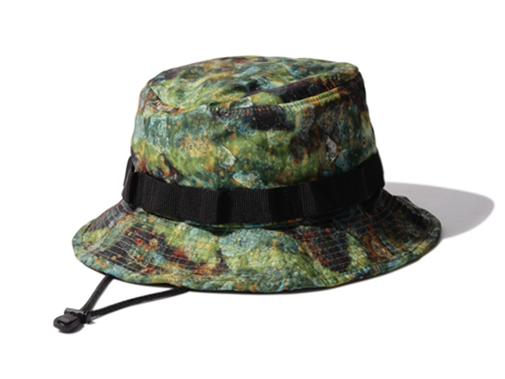Printed Packable Hat 2 Green0