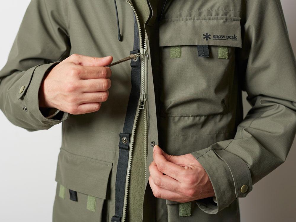 FR Rain Jacket M Olive8