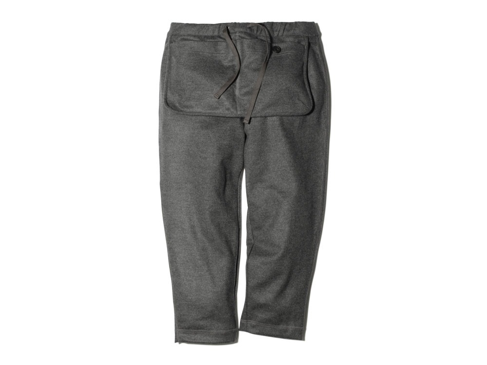 Wool Tight Knit Pants S Grey0