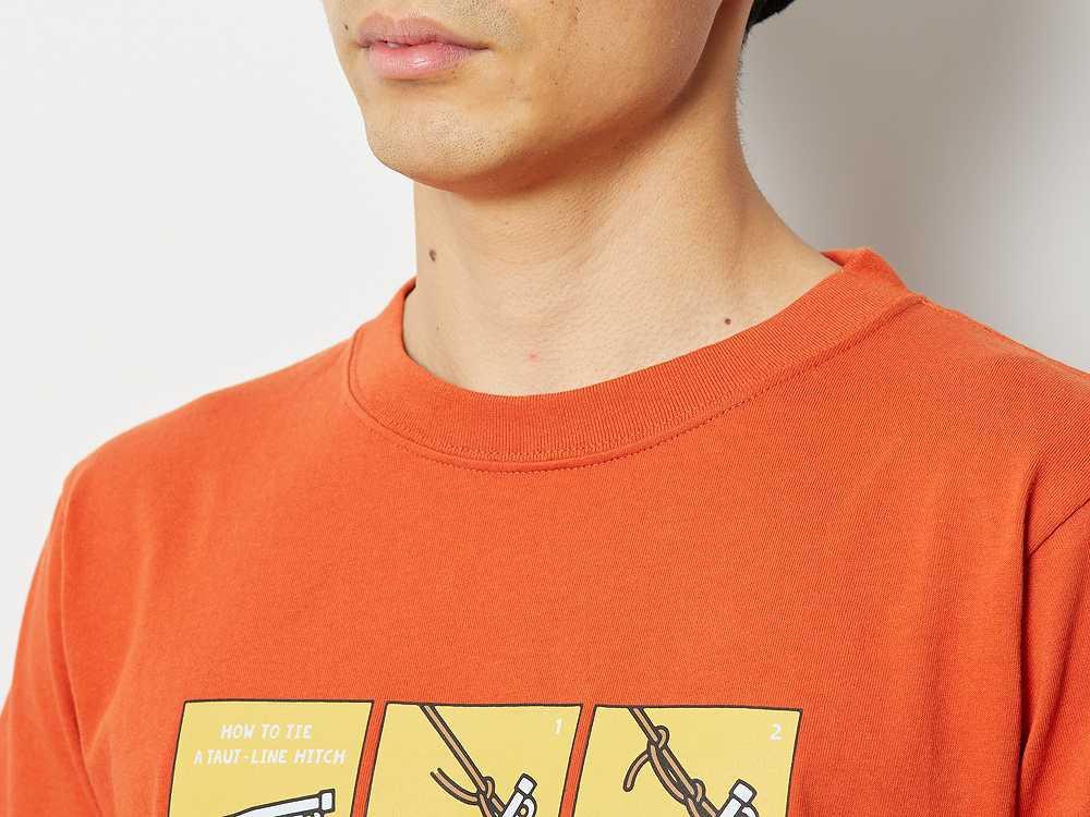 トートラインヒッチ Tシャツ M レッド