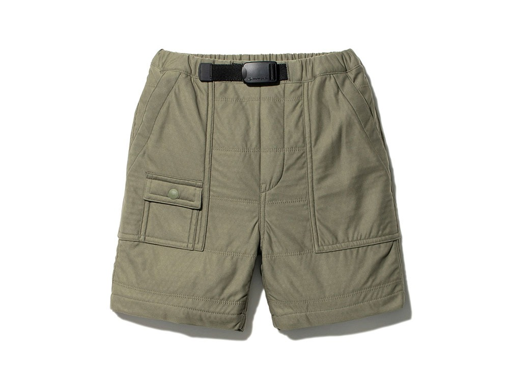 Kids Flexible Insulated Shorts 3 Olive