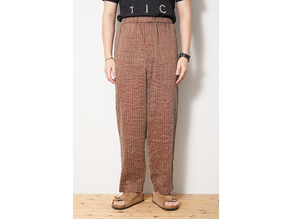 C/R Light Stripe Pants M Orange
