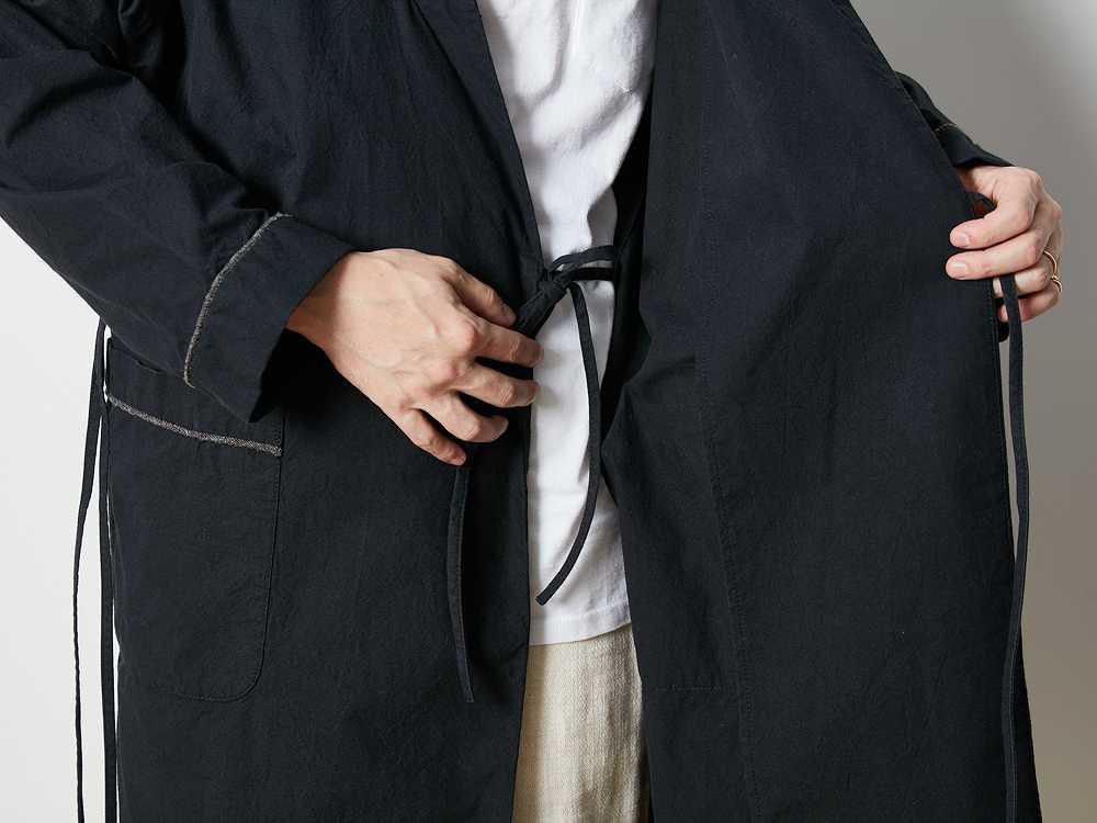 ノラギ ロングジャケット Lグレー