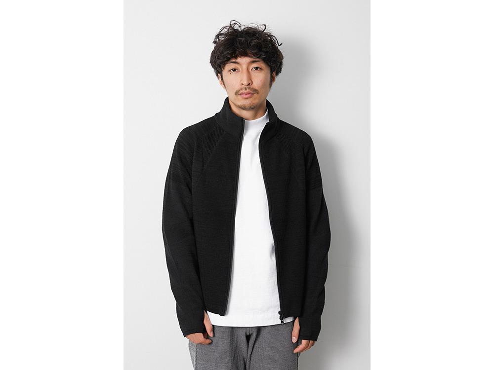 WG Stretch Knit Jacket S Black