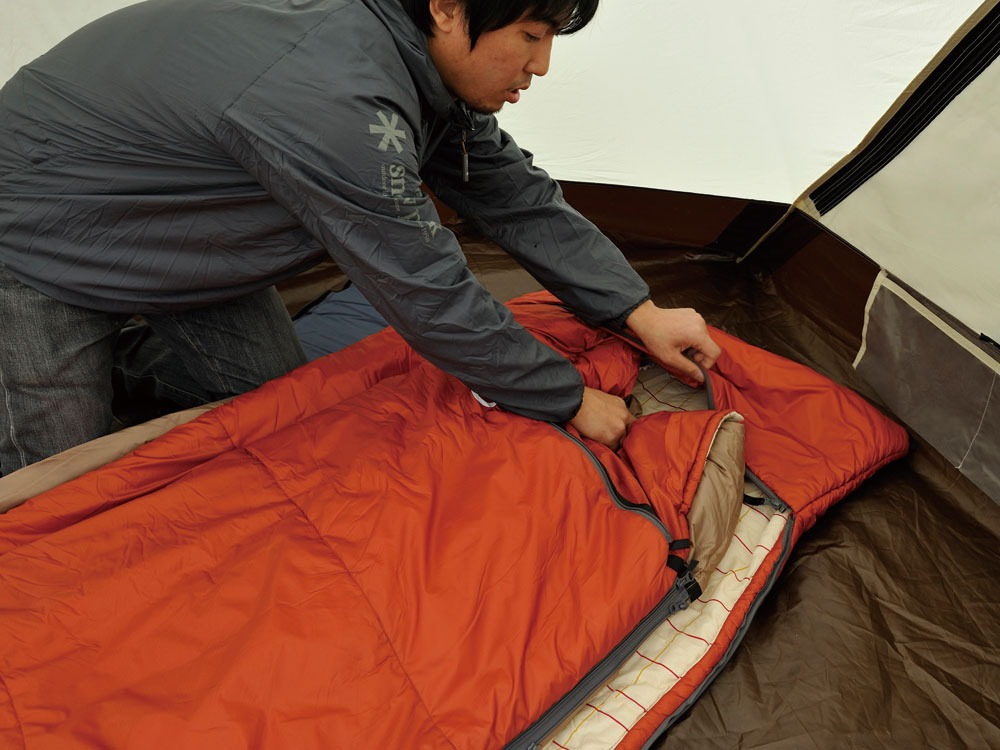 Separate Sleeping Bag Ofuton Wide2