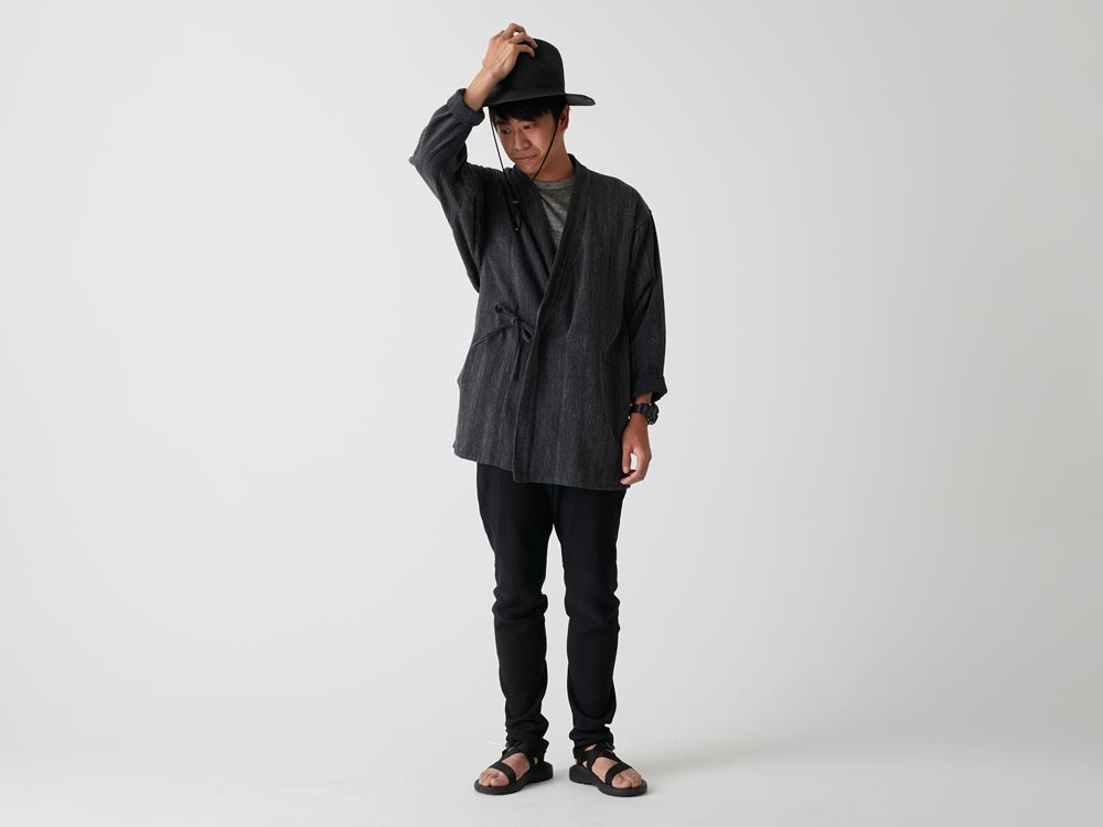 Spec Dyed OX Noragi Jacket 1 Black1