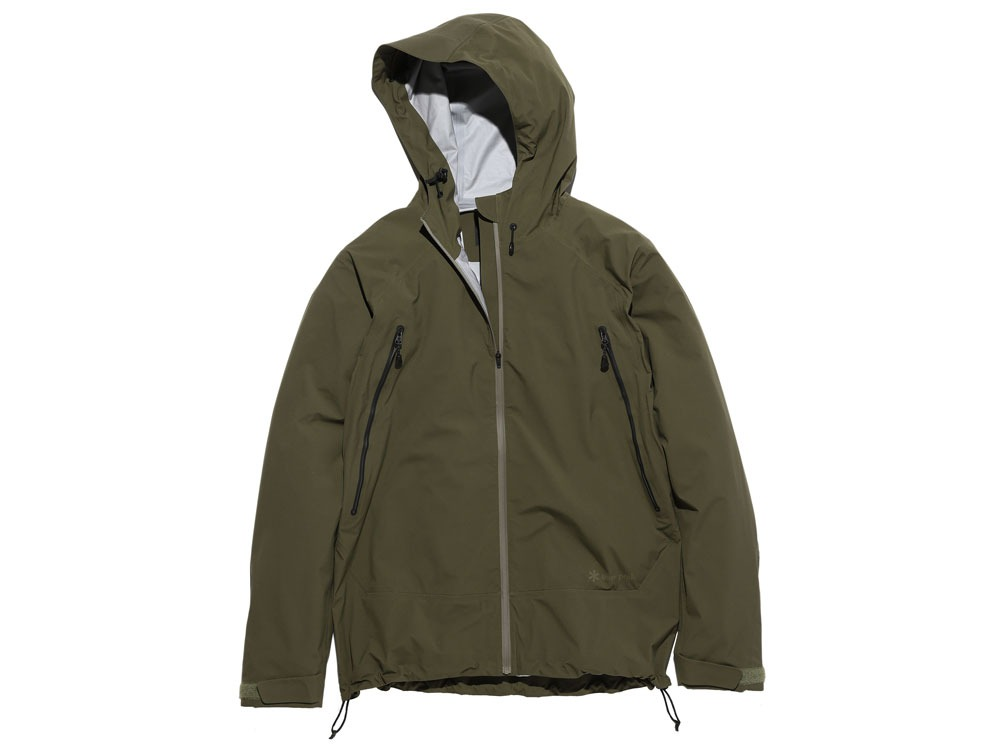 3L Light Shell Jacket S Olive0