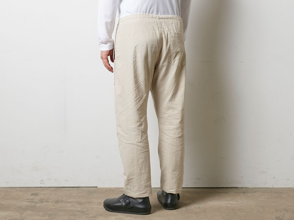 Safari Linen Pants M Beige4