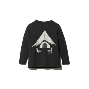 Kids Relaxed Camping Printed Tee