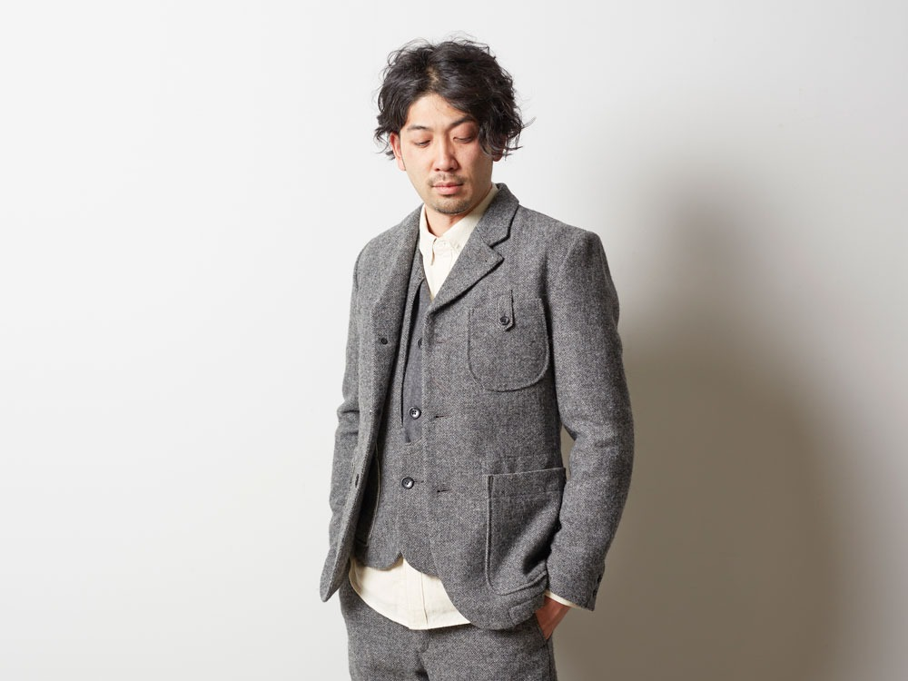 Camping Wool Jacket M Grey4