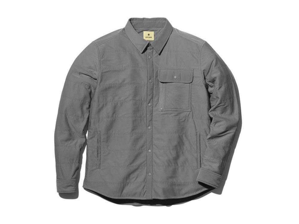 フレキシブルインサレーションシャツ M メランジェグレー