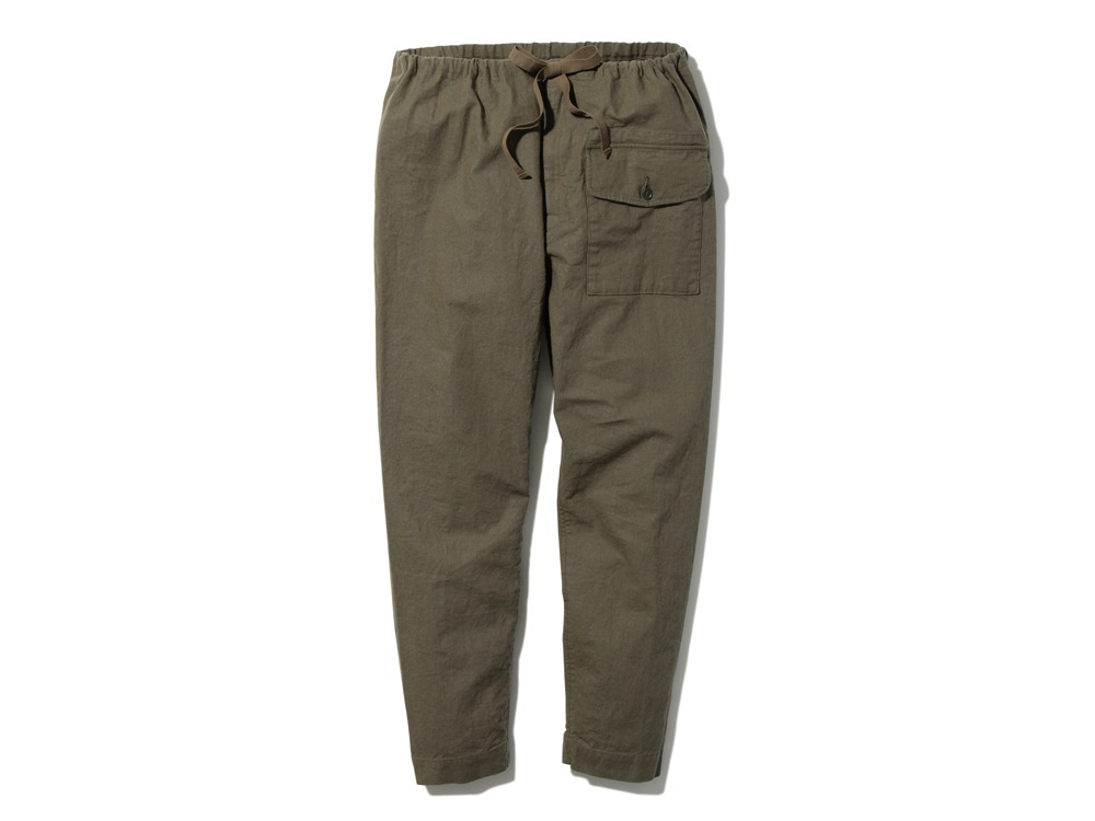 Safari Linen Pants S Olive0