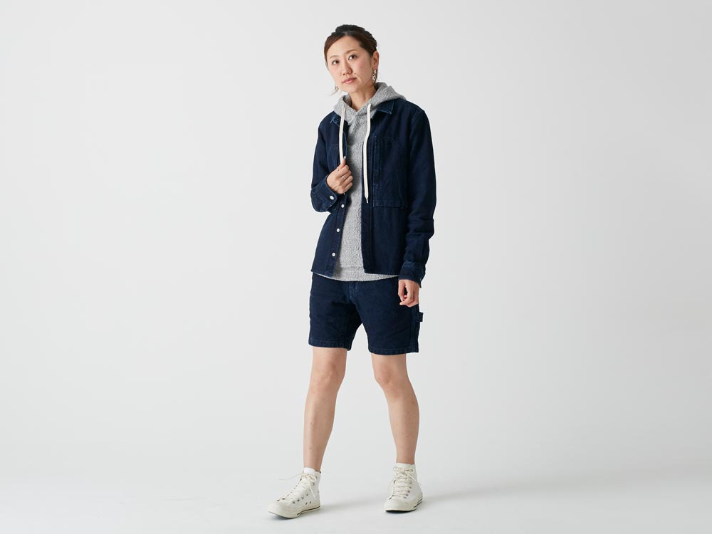Okayama OX Shorts SIndigo2