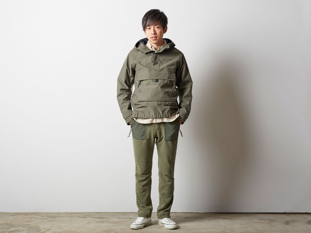 FR Rain Pullover M Olive1
