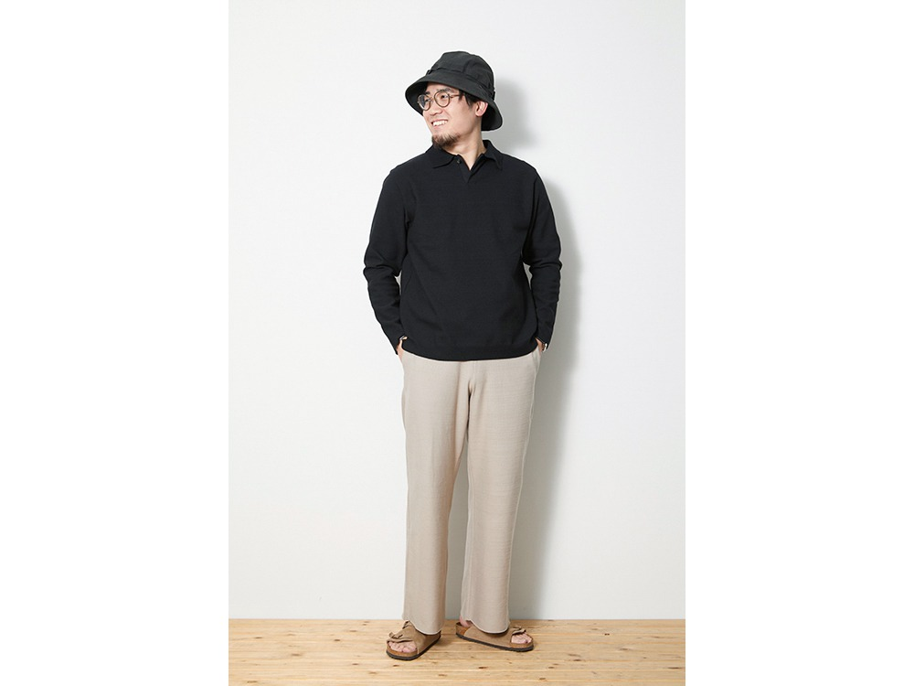 Co/Pe Dry Pants Wide L Beige