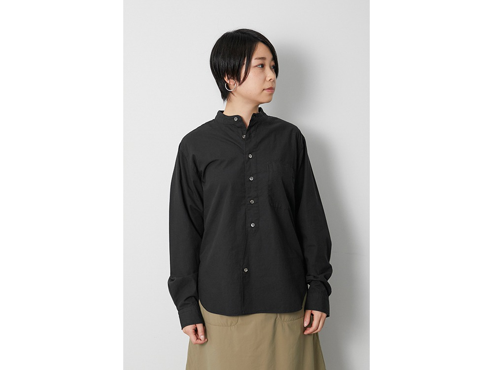Ultimate Pima Poplyn St-collar SH XL BK