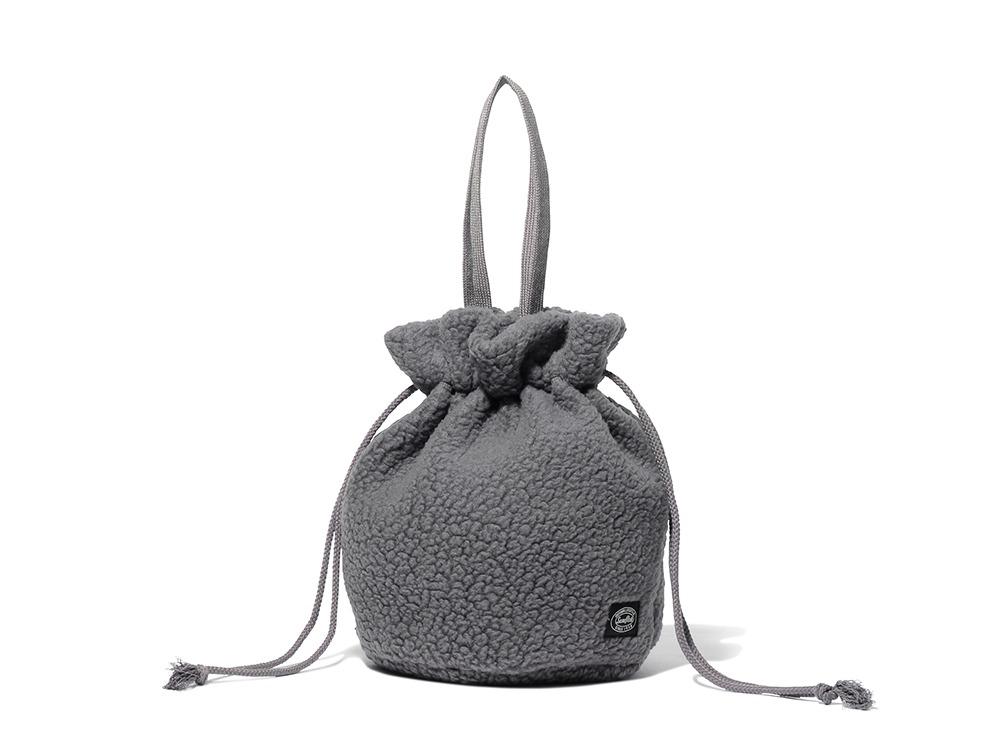 Thermal Boa Fleece Kinchaku One Grey