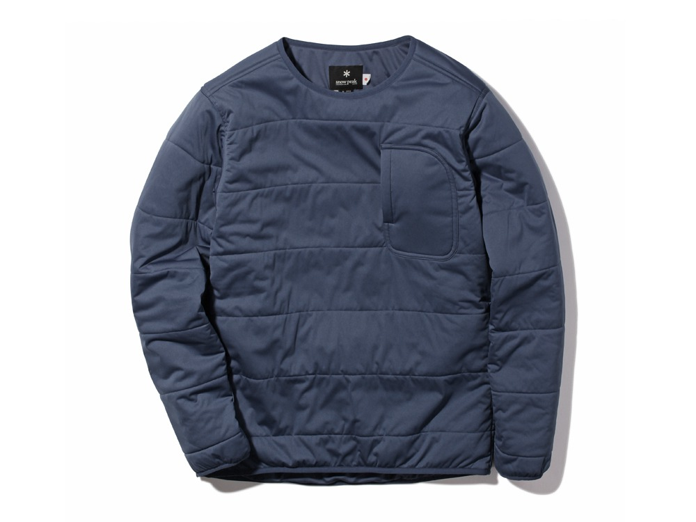 Flexible Insulated Pullover1NAVY