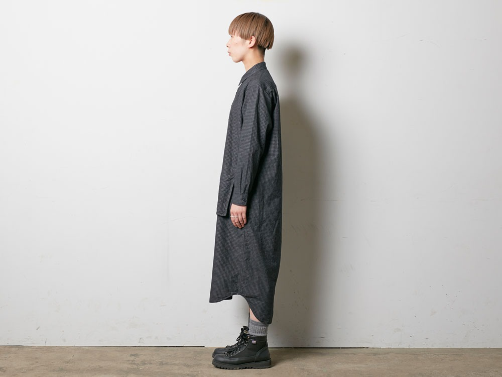 W's Organic Rip Stop Dress 1 Ecru2