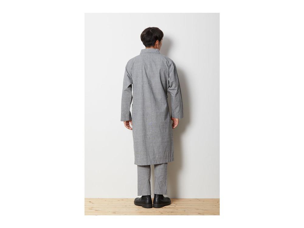 ノラギ ロングコート XL Grey