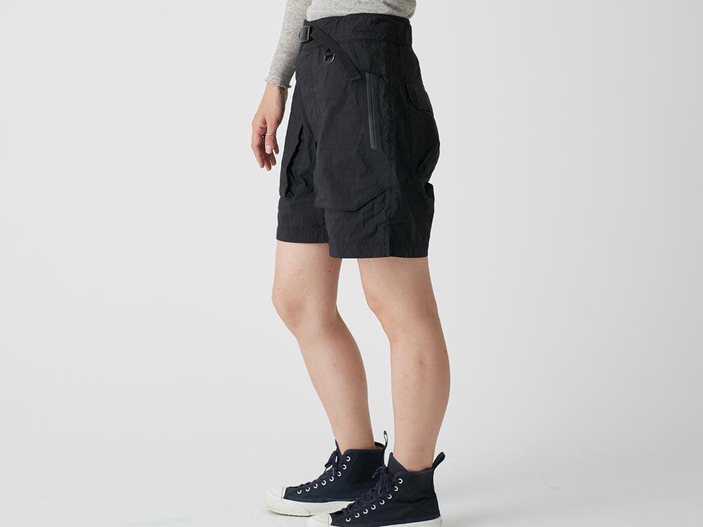 Indigo C/N  Anorak Shorts 2 Black3