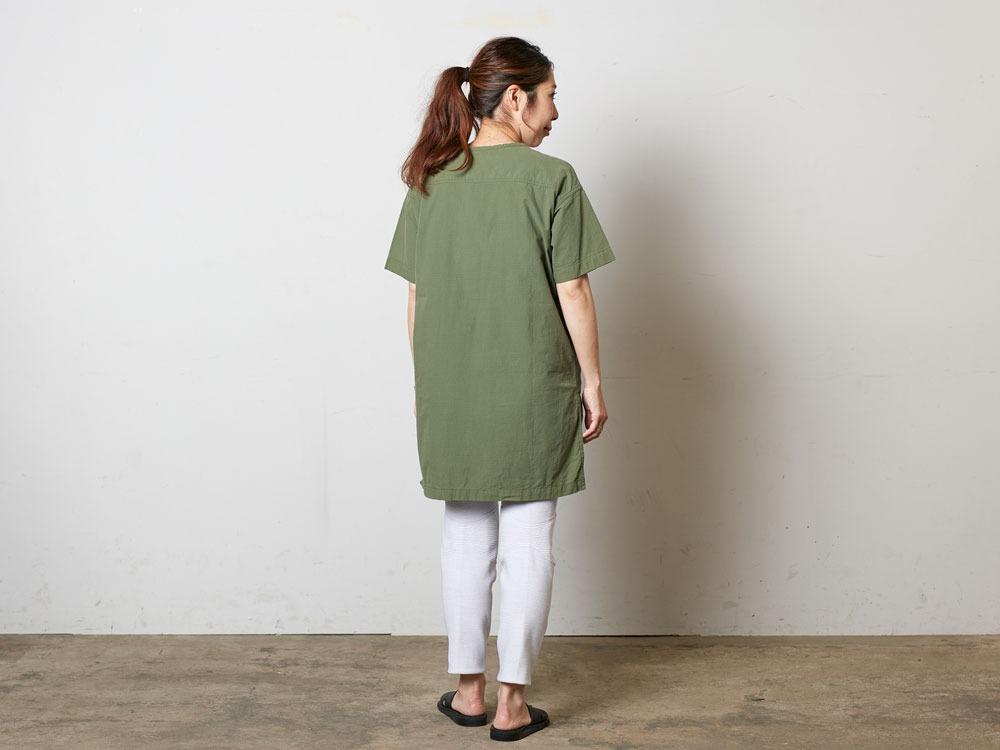 CottonRipStopPullover 4 Olive3