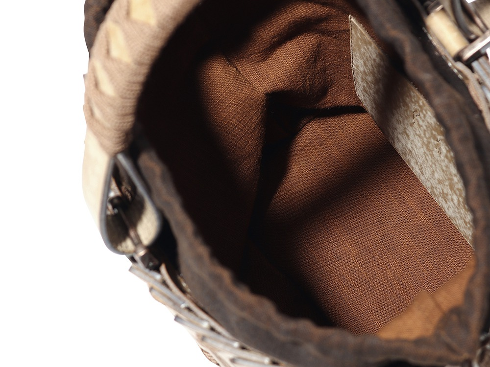 YAMAI × HATORI Leather Bucket One GYSD