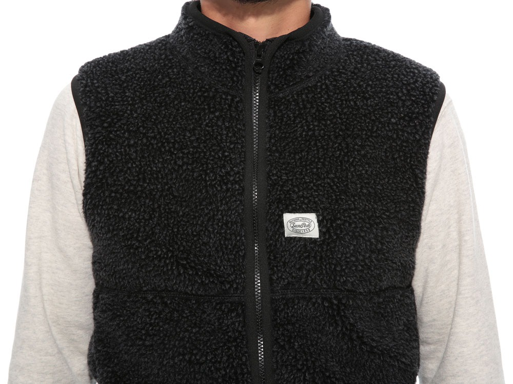 Soft Wool Fleece Vest XL Charcoal5