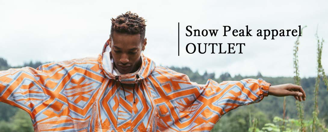 Snow Peak Apparel OUTLET