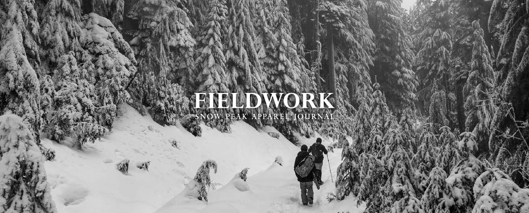 Snowpeak Apparel fieldwork