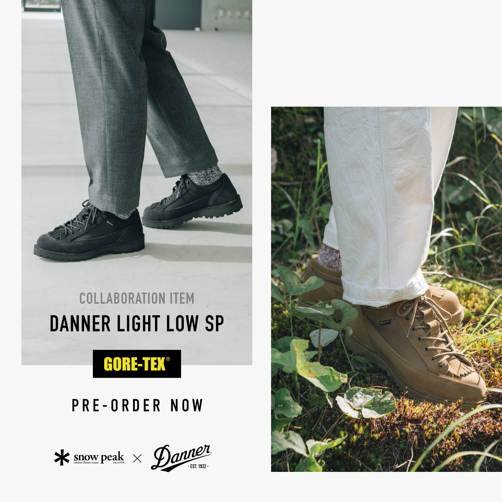 【sp】20AW DANNER FIELD LOW