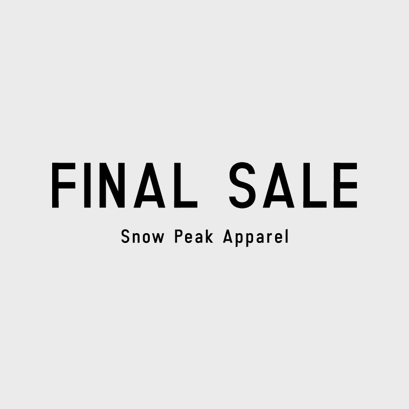 apparel FINAL SALE