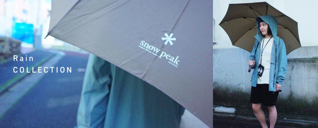 Snow Peak Rain collection